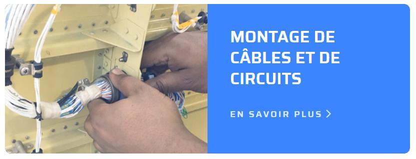 Montage de câbles et de circuits