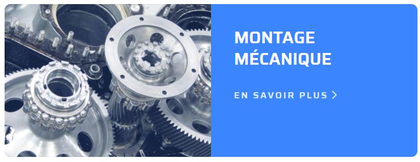 Montage mécanique